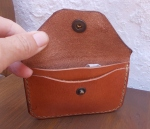 18€. Single change purse open