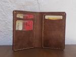 38€. 17.5 x 12cm. Wallet #1. Vertical billfold