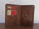 38€. 17.5 x 12cm. Wallet #2 Vertical billfold with coin department.