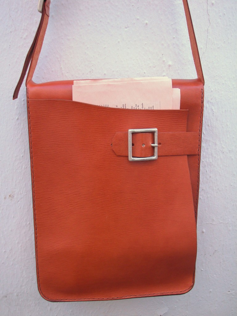 Wonderful chunky shoulder bag/briefcase. Yours for a lifetime!