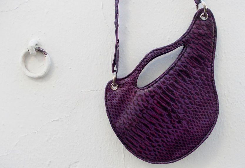 classic woman´s purse unique design by FG