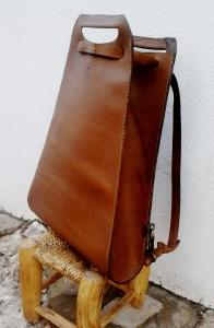 137€. Classy backpack stroke handbag by fghandmade bags