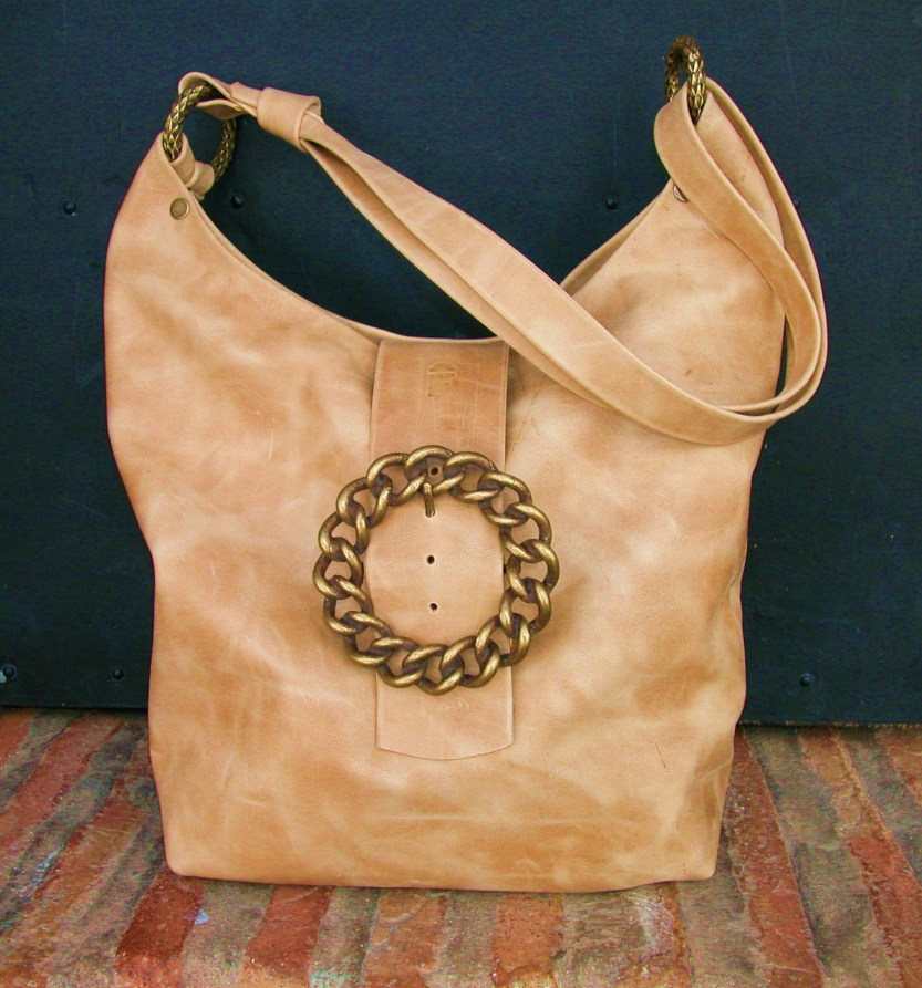 chrome-tanned leather, see 'banana bag' on 'Classic' page Old bag of the day. 21.11.11