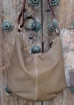floppy shoulder sack by FG handmade bags