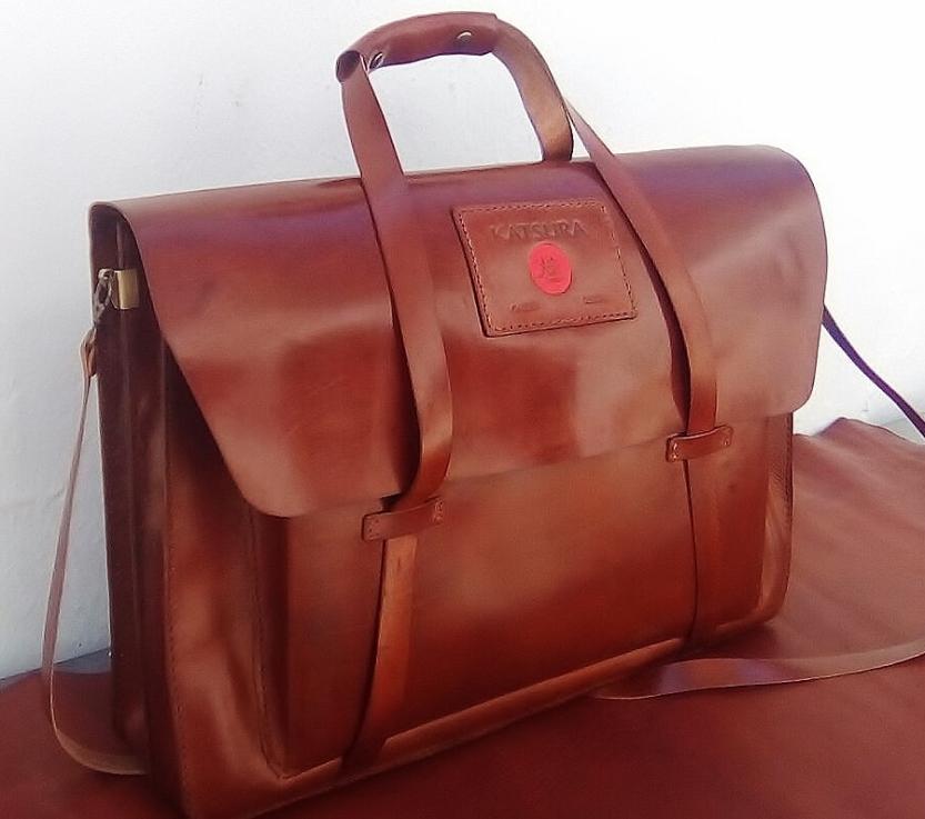 Custom-made briefcase unique design
