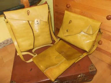top-quality Spanish leather used in FG handmade bags