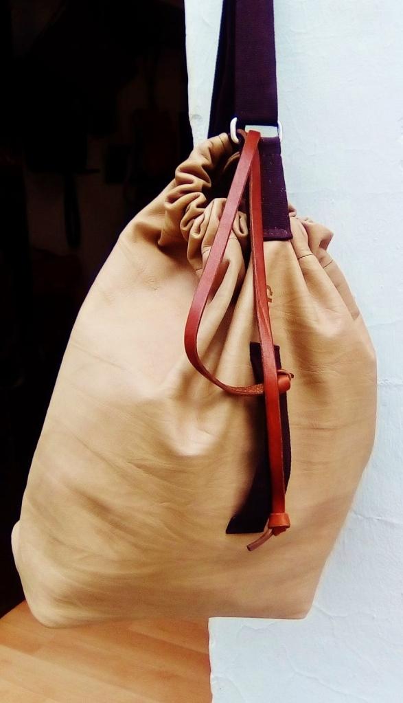 IKEA design inspired duffle bag