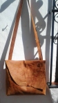 organic style shoulder bag by FG handmade bags