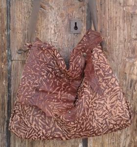 organic style shoulder bag by fghandmadebags