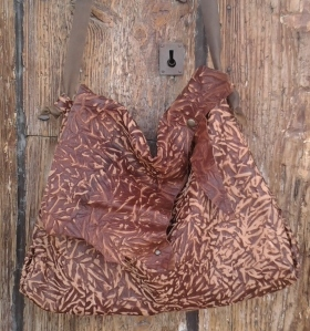 organic style shoulder bag by fghandmadebags
