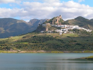 Zahara, 'pueblo blanco' and host to regular artisan and farmer´s markets. Another place to buy FG Bags
