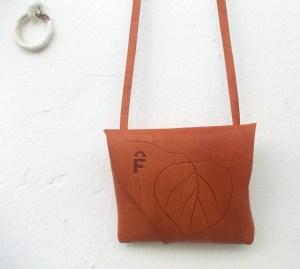 handmade leather bag unique