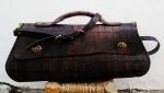 210€. Imitation crocodile leather bag by FG unique design