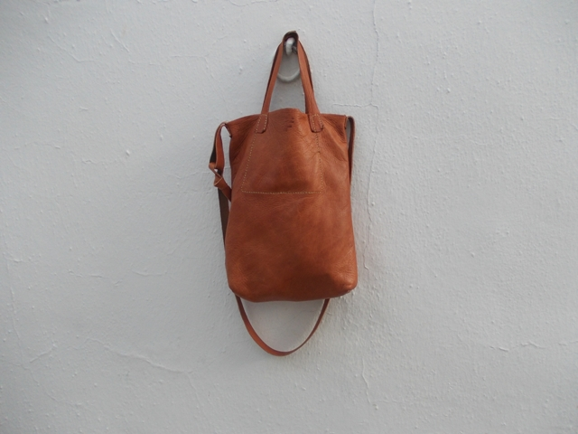 bag with its new short straps made to measure by FG