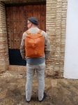 bespoke goat´s leather backpack by FG