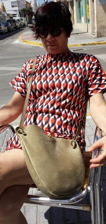 Charo, handmade, leather, bag, FG