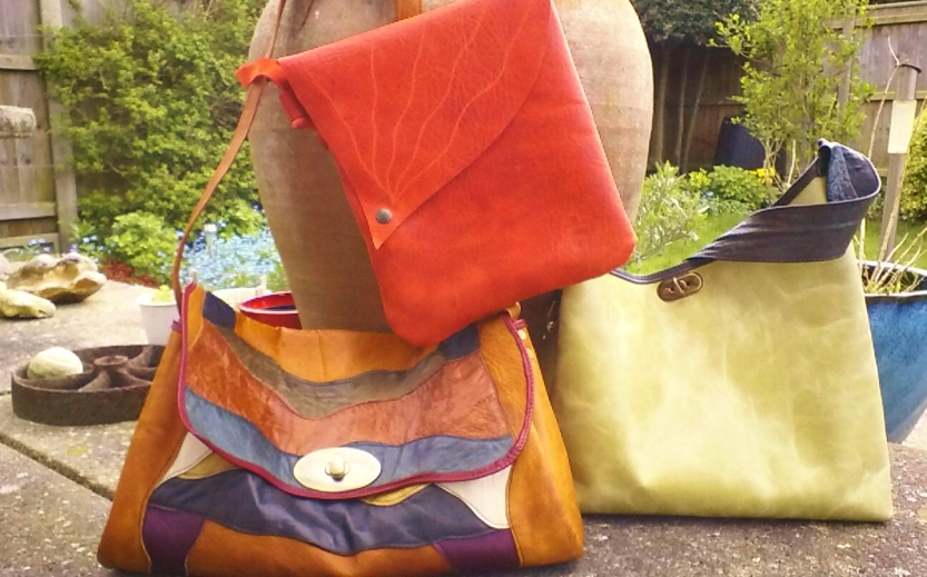 leather unique handmade bags