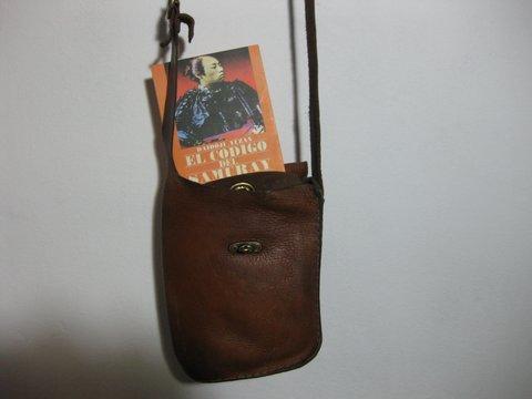 Rafael´s shoulder bag made by Fernando a long while ago