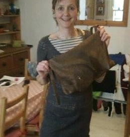 leather, handmade, bag, purse, FG