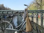 bikes and handmade bags in amsterdam