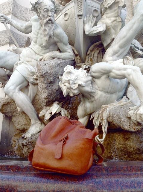 bespoke backpack in Vienna