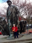 Lenin, a Seattle landmark. apt for FG handmade bags