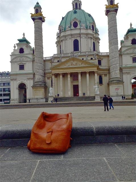 custom-made backpack in Vienna
