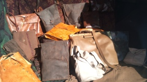 Another Sevilla collection of leather handmade bags