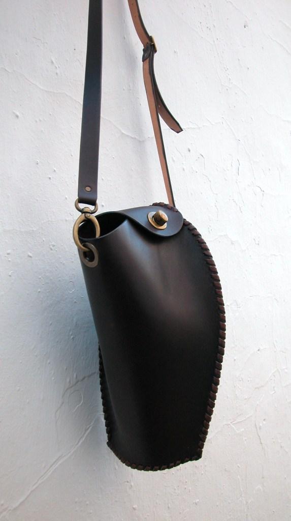 elegant superbly made leather handbag
