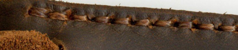 detail of fg handmade leather bag for header image