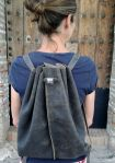 95€.Custom-made backpack by fg handmade bags