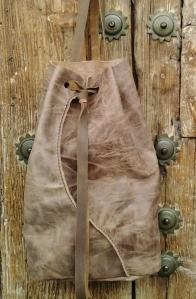 64€.Organic design backpack by fghandmadebags