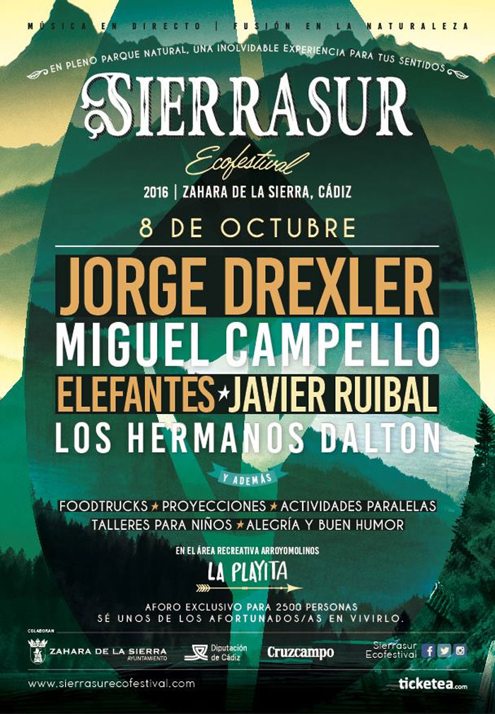 SierraSur Ecofestival fg bags will be on sale