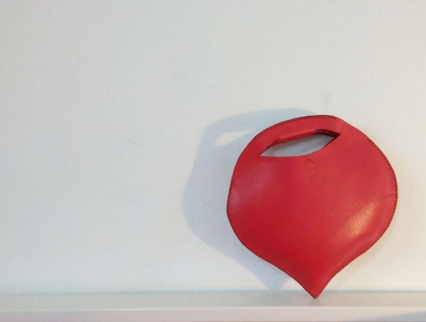 handmade heart bag by fg handmade bags