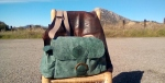 125€. seagreen camera bag by fghandmadebags