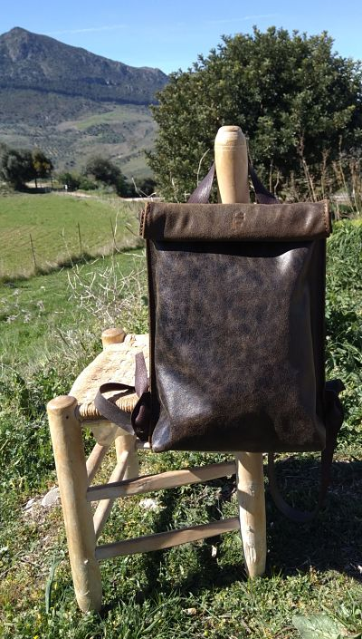 FG rucksack unique leather bags