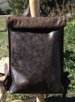 160€. organic backpack with roll-top close FG