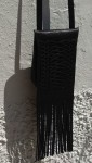 90€. 23 x 17cm. plait and fringe bag FG