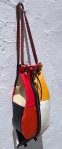 75€. 40 x 15. truly original patchwork bag with inner lining.